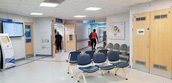 Inside a UK hospital